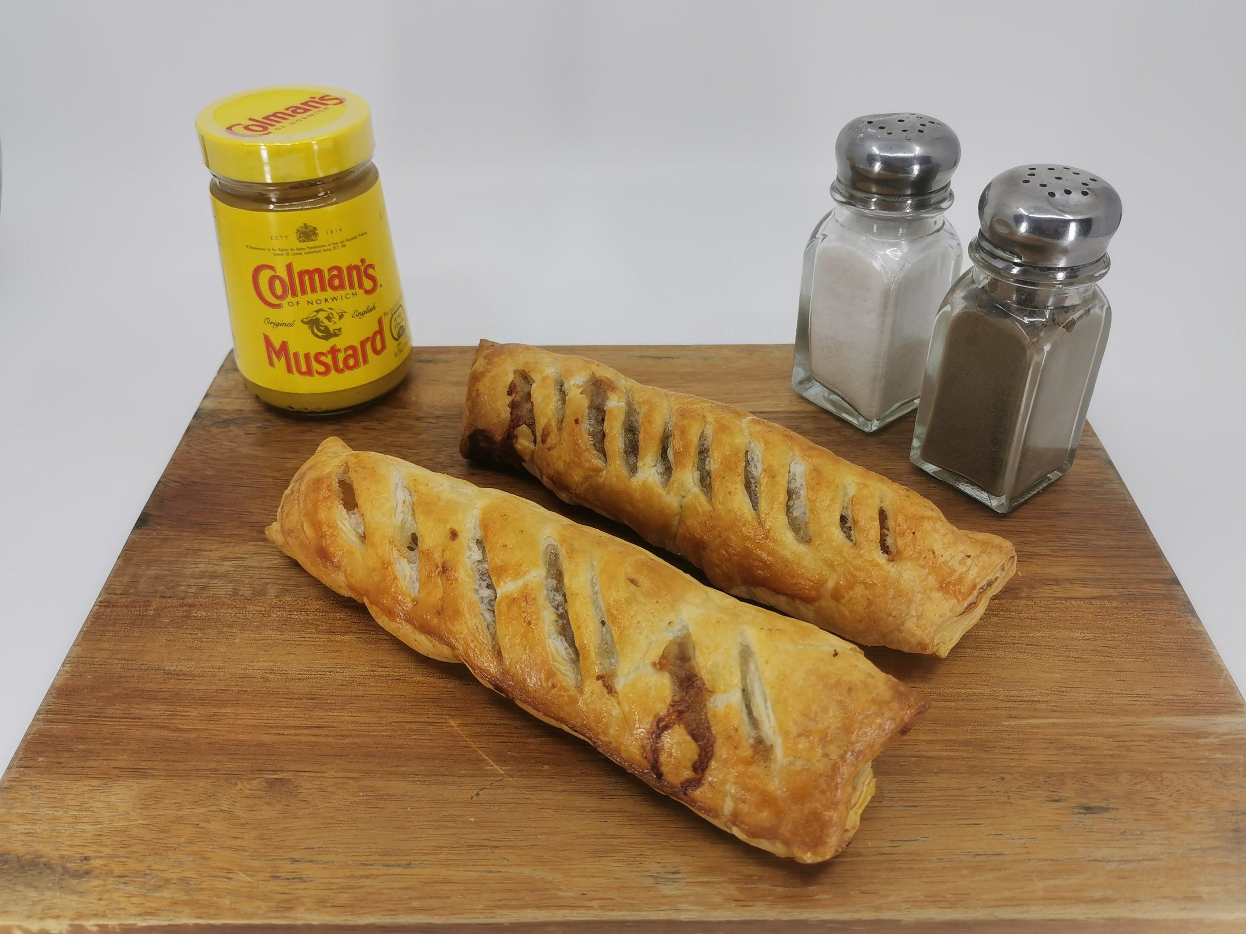 Jumbo sausage rolls 1pc / Jumbo párky v těstíčku 1ks