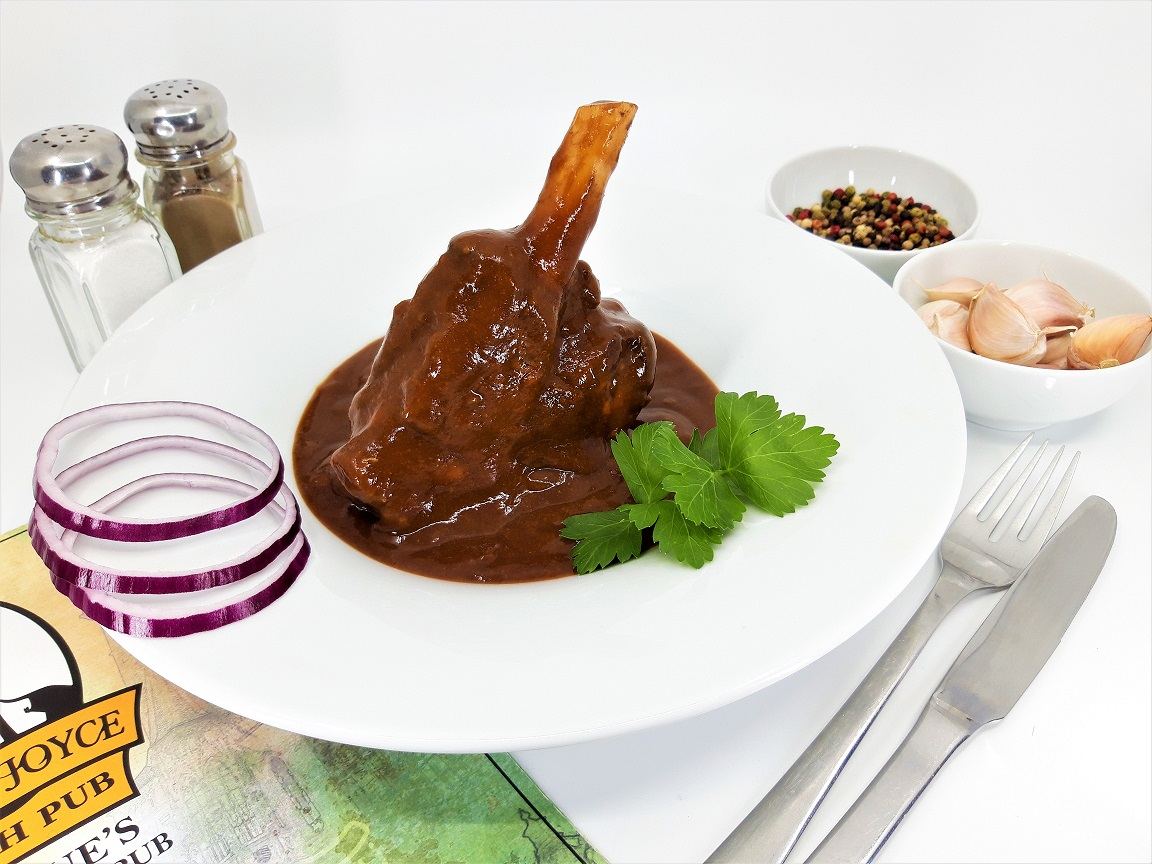 Roasted Lamb Shank 450g / Pečené jehněčí kolínko 450g